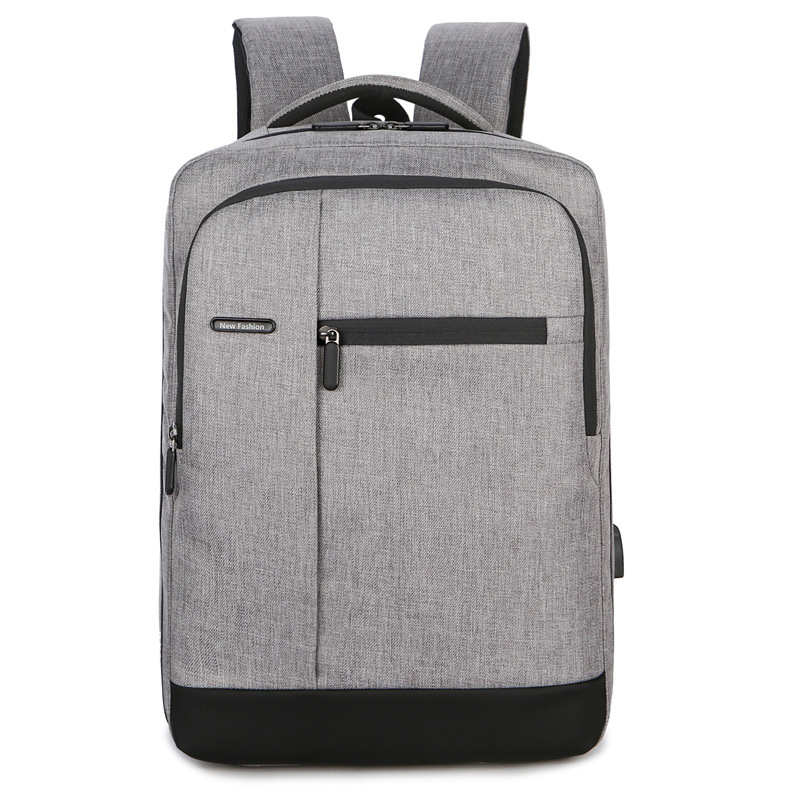 Computer Backpack Outdoor Leisure Backpack Wear-resistant Scratch-resistant Oxford Cloth Backpack 0