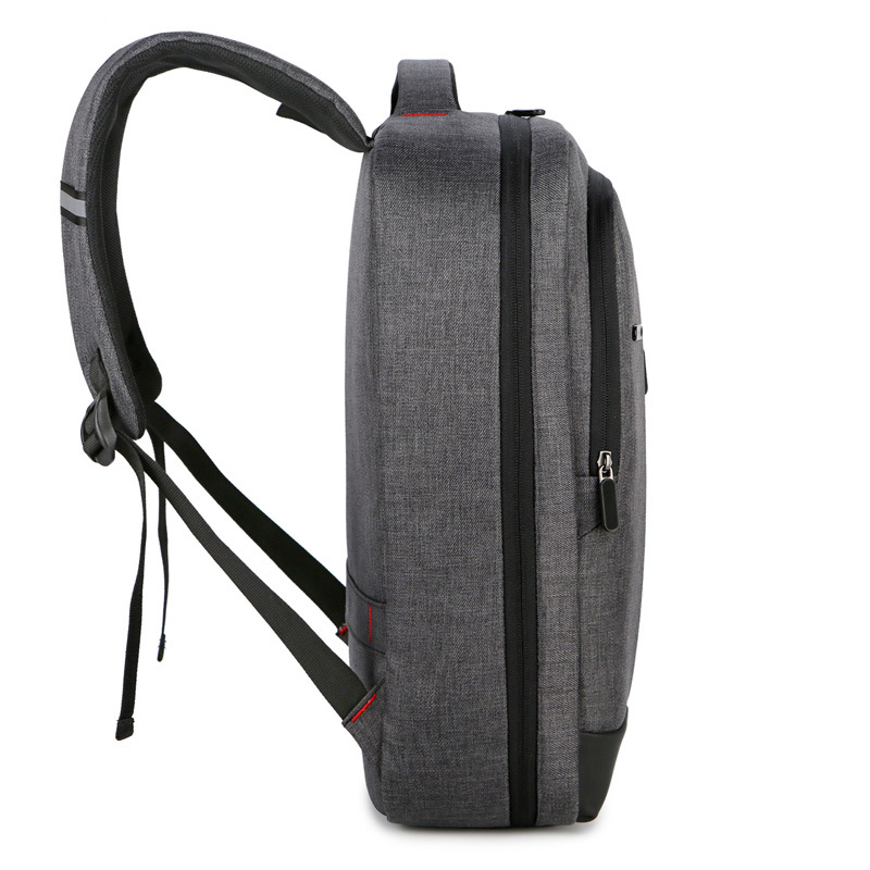 Computer Backpack Outdoor Leisure Backpack Wear-resistant Scratch-resistant Oxford Cloth Backpack 3
