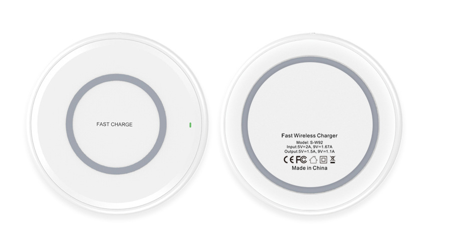 Suitable for Apple 7.5W Wireless Charger Android Phone 10W Fast Wireless Charging Board W92 1