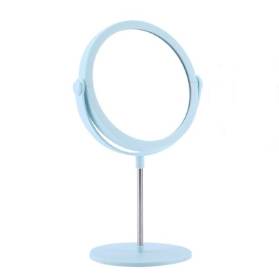 Round Makeup Mirror and Magnification 2×~3×, Table Cosmetic Mirror for Vanity
