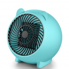 Mini Heater Fan for Desktop Home Office, Portable Electric Space Heater Cute Cartoon Candy Color