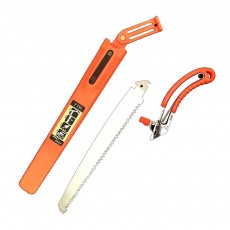 Pruning Saw With Sheath, Pruning Implements Multifunctional Saw for Woodworking, Gardening, Landscaping