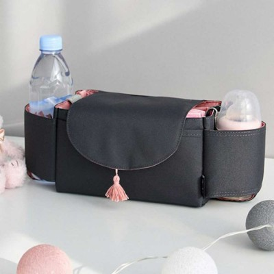 Stroller Organiser Bag Phone Pram Stroller Bag Buggy Storage Pushchair Bag Organizer Bottle Cup Pouch Holder Handbag