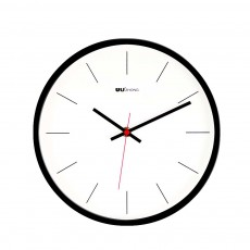 Modern Wall Clock Large - Minimalist Scale Silence Wall Clock Round Watch 10-inch