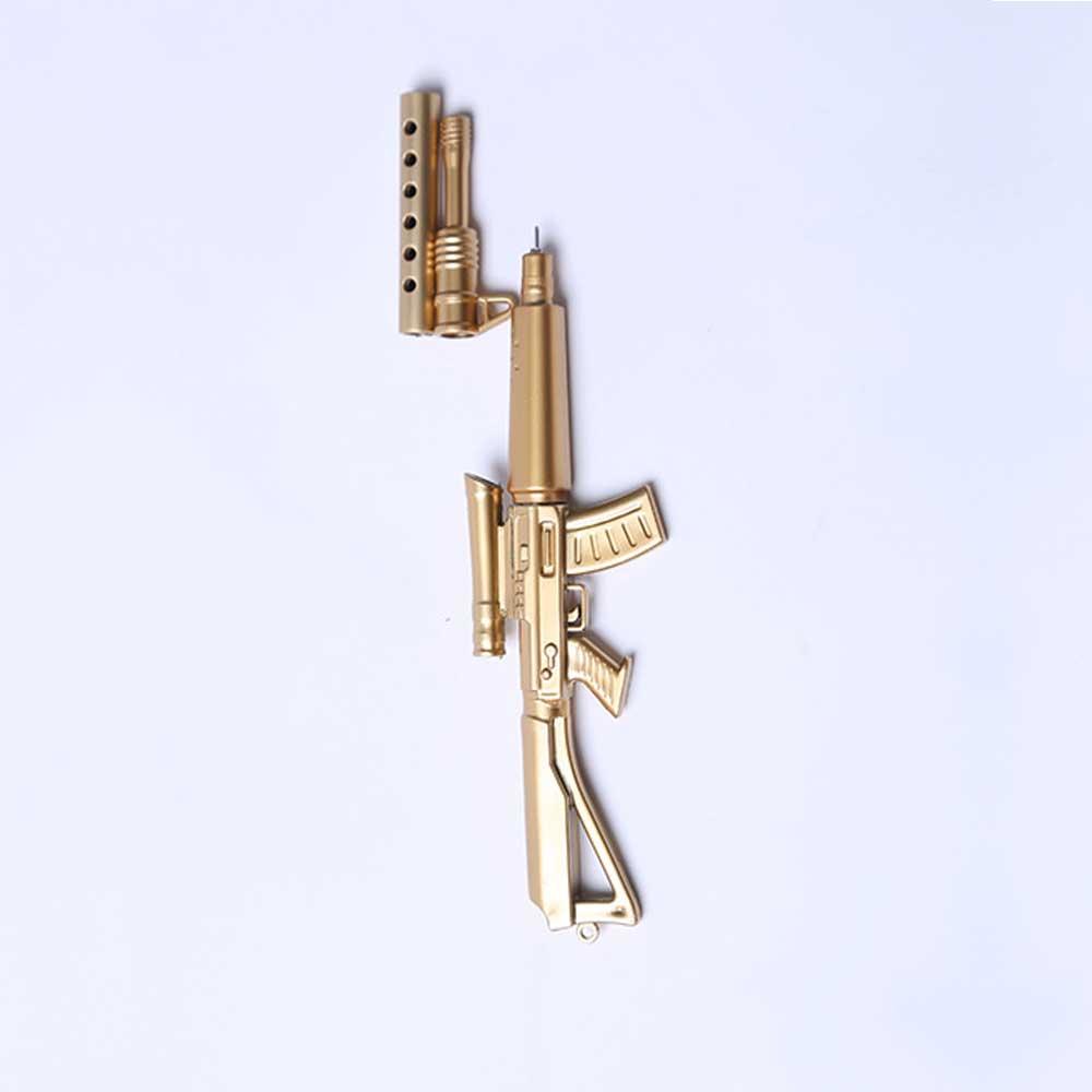 Cool Pen - Sniper Rifle Sculpt Black Neutral Pen, Unique Pen for Gifts