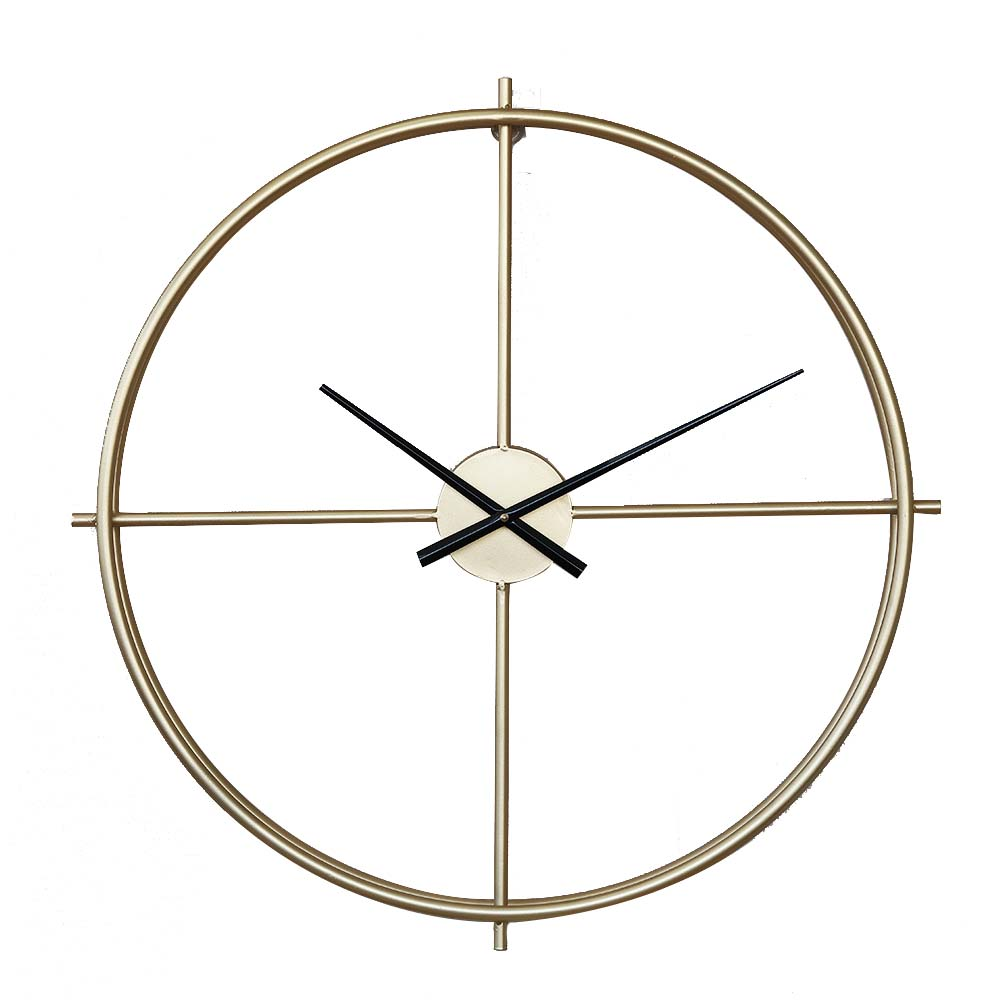 Quartz Wall Clock Round - Minimalist Modern Design Wall Clock