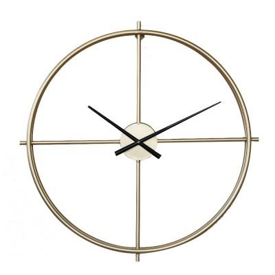 Quartz Wall Clock Round - Minimalist Modern Design Wall Clock