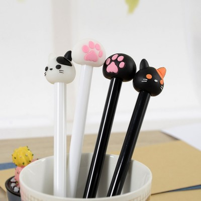 Neutral Pen - Special Catty Thin Pen Student Examination, Black, 0.5mm