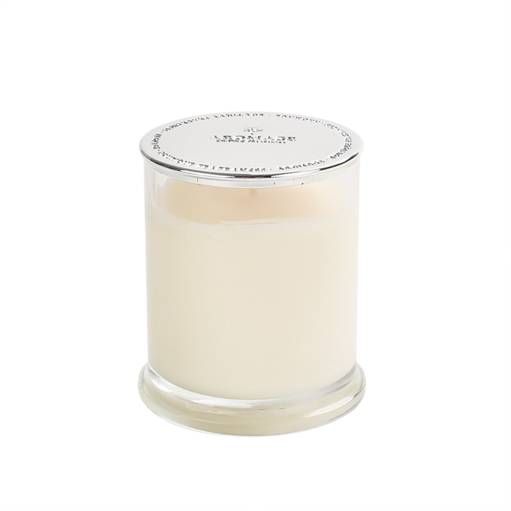 Aromatherapy Candle - England Spice Environmental Soy Wax Scented Candles Deep Glass Bottle Home Decor - 210g