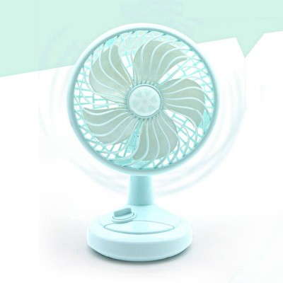 USB Mini Fan - Cooling Air Desktop Hand Hold Portable Fan Smart Swing, 3 Levels
