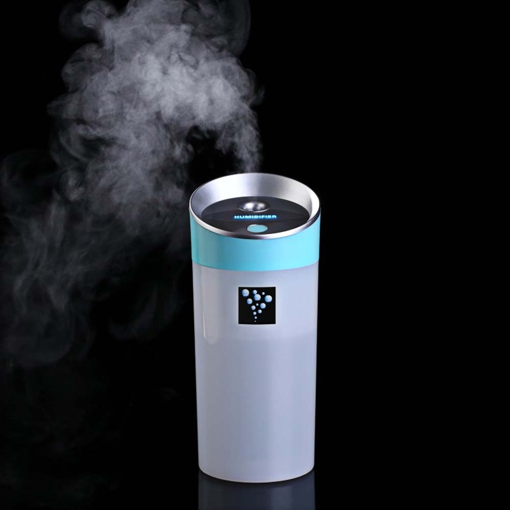 USB Car Humidifier - Vehicle USB Rechargeable Portable Humidifier Essential Oil Diffuser Ultrasonic Purifier
