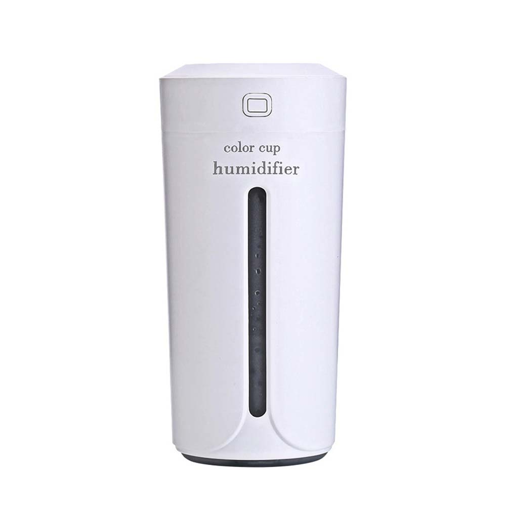 USB Humidifier Air Essential Oil Diffuser - Colorful LED Night Light Cup Aroma