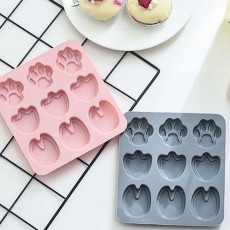Cartoon Cake Mould, Paws Nonstick Baking Mold, Durable Soap Mold