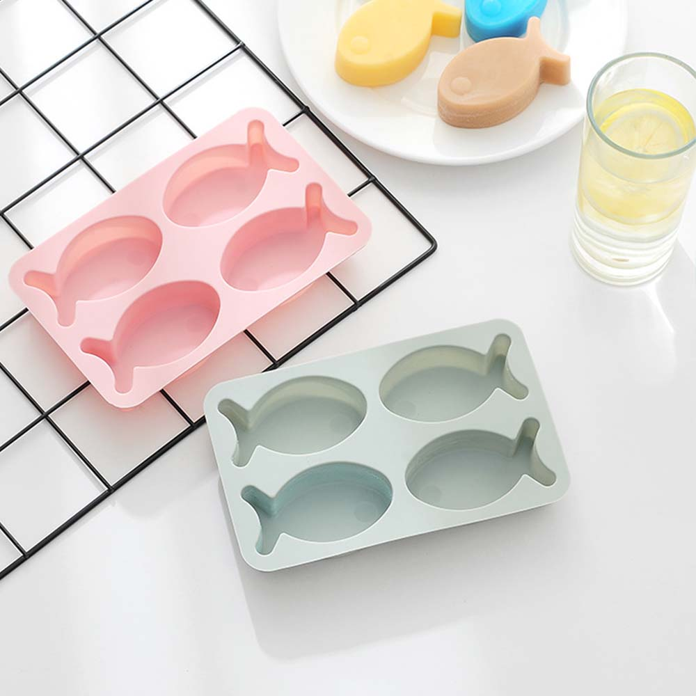 Cartoon Cake Mould Fish Shape, Nonstick Baking Mold, Soap Mold
