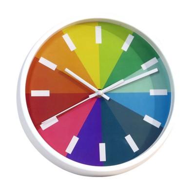Rainbow Wall Clock - Modern Design Silence Round Clock