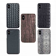 Business Phone Case, PU Leather Phone Case Back Cover for iPhone, Samsung