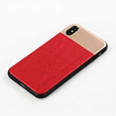 Leather Case for iPhone, Ultra-thin Soft PU Phone Case Back Cover