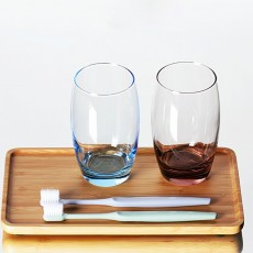 Bathroom Couple Cup, Transparent Toothbrush Cup For Household And Hotel Use