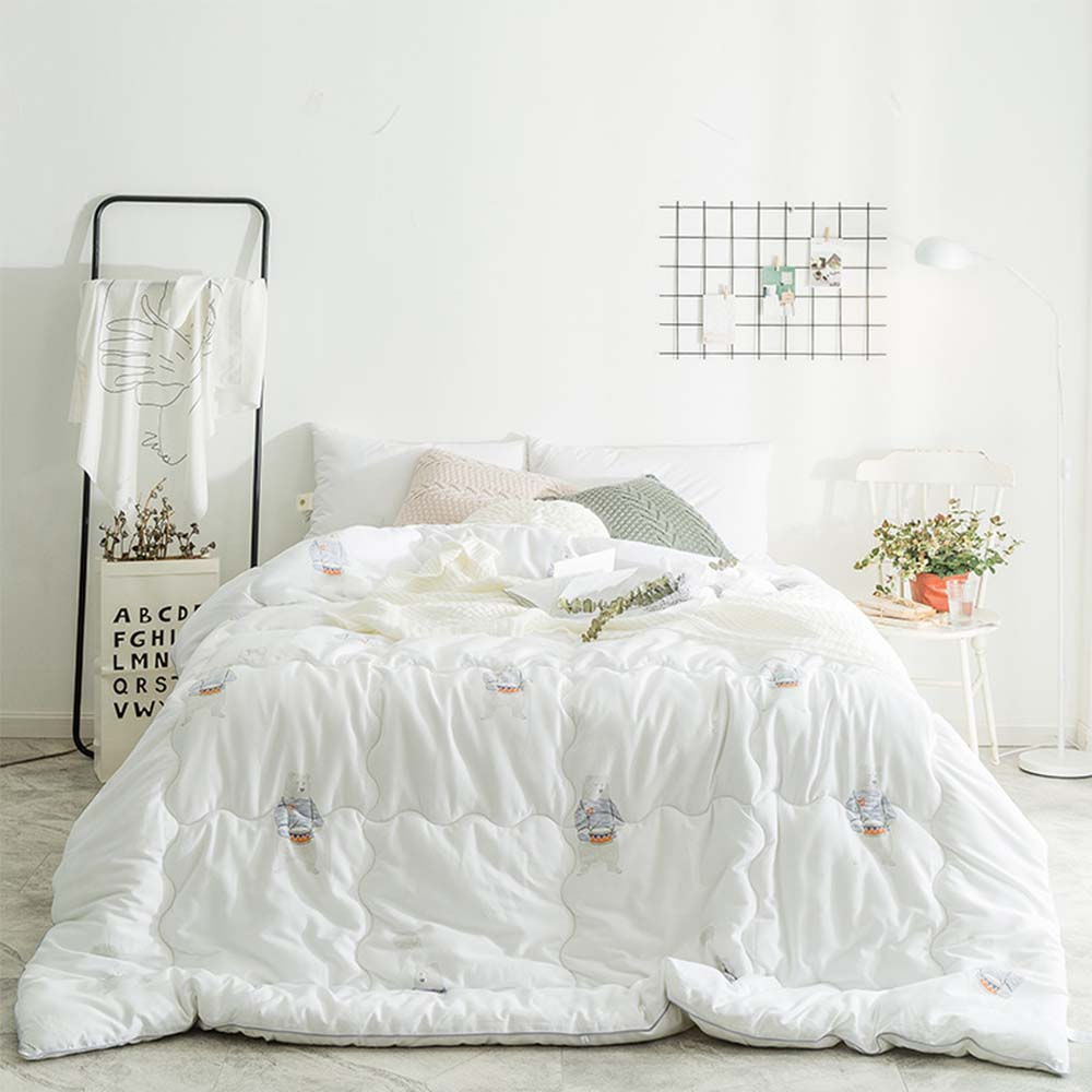 Thick Heavy Quilts, Cotton Bed Sheet Sets Duvets, Single Double King Size