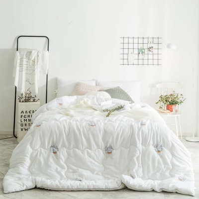 Thick Heavy Quilts Cotton Bed Sheet Sets Duvets Single Double King Size