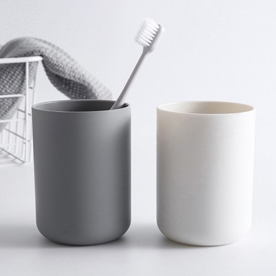2021 Wall-mounted Toothbrush Holder, Toothbrush Cup, Elegant Color Mouth Cup