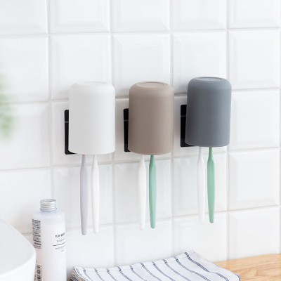 Wall-mounted Toothbrush Holder, Toothbrush Cup, Elegant Color Mouth Cup