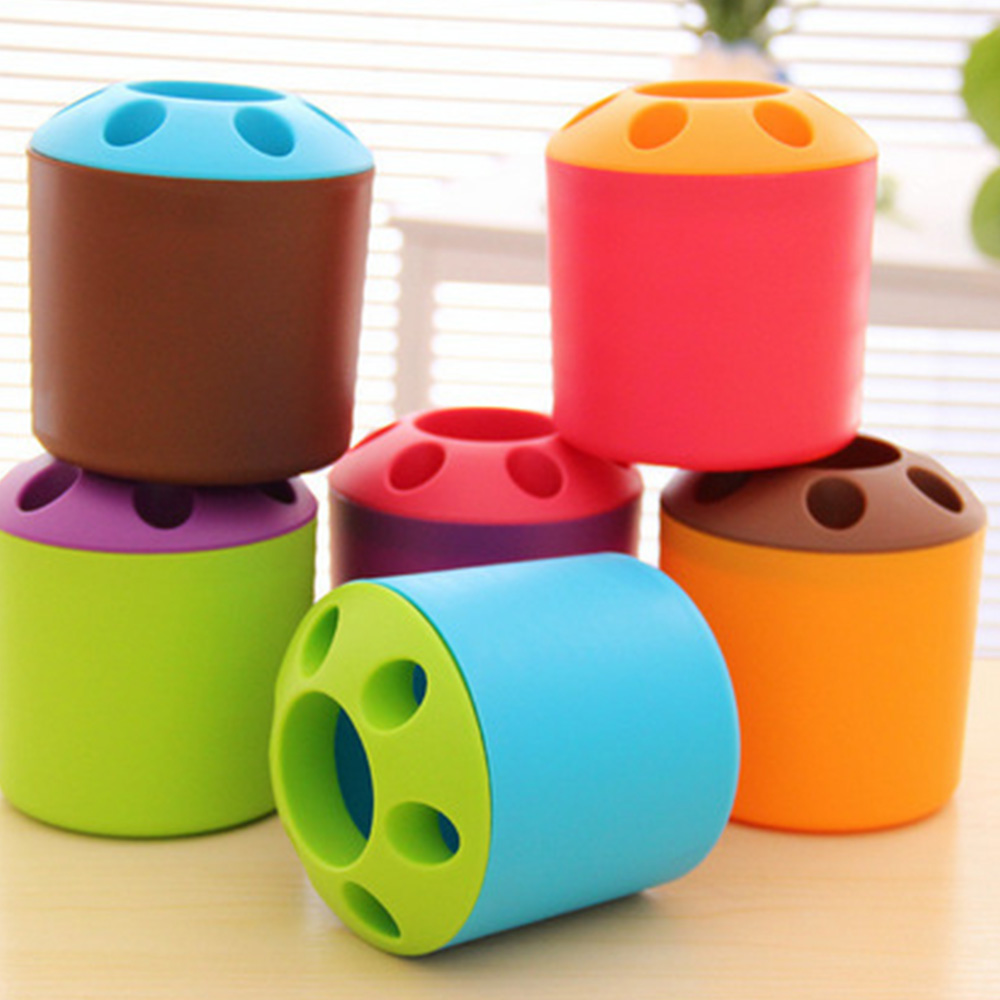Toothbrush Holder with Cover, Household Travel Dormitory Use Toothbrush Holder Set