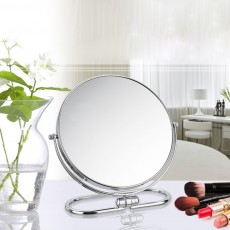 Table Cosmetic Mirror, One-Sided Makeup Mirror For Vanity, OK to Hang-up