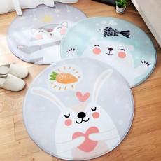 Chenille Carpet Fluffy Rugs, Baby Play Floor Mat, Non-slip Rugs for Living Room, Bedroom