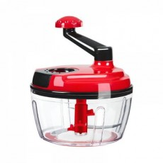 Manual Food Chopper Blender with 3 Sharp Stainless Steel Blade, Universal Mixer Cutter for Cutting Various Foods for Baby