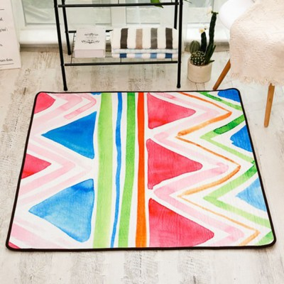 Non-slip Fluffy Rugs, Baby Play Floor Mat, Chenille Fabric Carpet for Living Room, Bedroom
