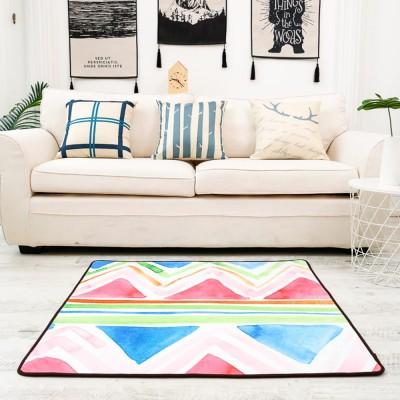 Non Slip Fluffy Rugs Baby Play Floor Mat Chenille Fabric Carpet