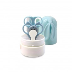 Nail Care Kit For Baby with Rabbit-shaped Storage Box, Lovely Baby Care Clippers Nail Kit, Infant Manicure Pedicure Kit