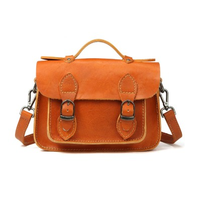 Fashion Casual Handbags, Ladies Crossbody shoulder Bag First Layer Leather, Top Layer Cowhide Handbags