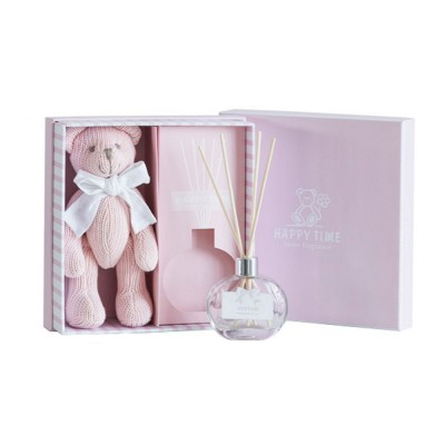 Creative Fragrance Gift Box for Weddings Confidant Valentine's Day Birthday, Fragrant Muppet Candelilla Bear Present