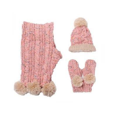 Winter Hat Scarf Glove Set, Anti-coldness Gift for Students
