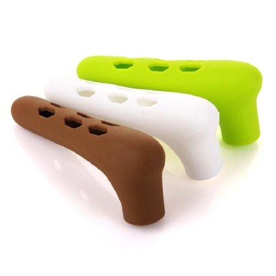 Silicone Door Handle with Hollow Out Design, Anti-collision Protective Cover for Children's Safety, Door Knob Protector