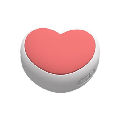 Desk Corner Thickened Protective Pad with Heart Design, Silicone Anti-collision, Shockproof Surround Pad