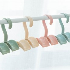 Nail-free Clothes-hook, Rotatable PS Hook Innovative Hanger for Bags, Ties, Belts