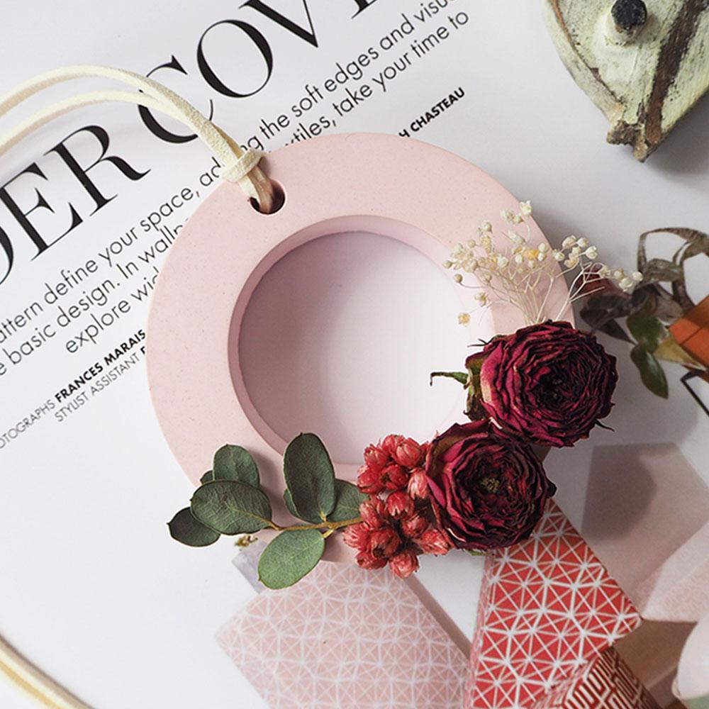Preserved Fresh Flower Decoration Solid Gypsum Perfume, Car Home Pendant Widget Hand-made Fragrance Diffuser Stone