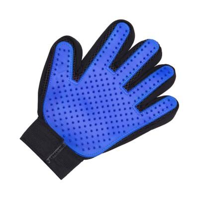 Pet Massage Gloves, Professional Dog Bath Shower Brush Massage Gloves, Double-Sided