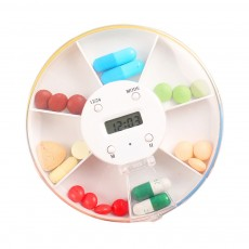 Pill Box With Timer Reminder 7-divided Electronic Pill Box Intelligent Electronic Kit