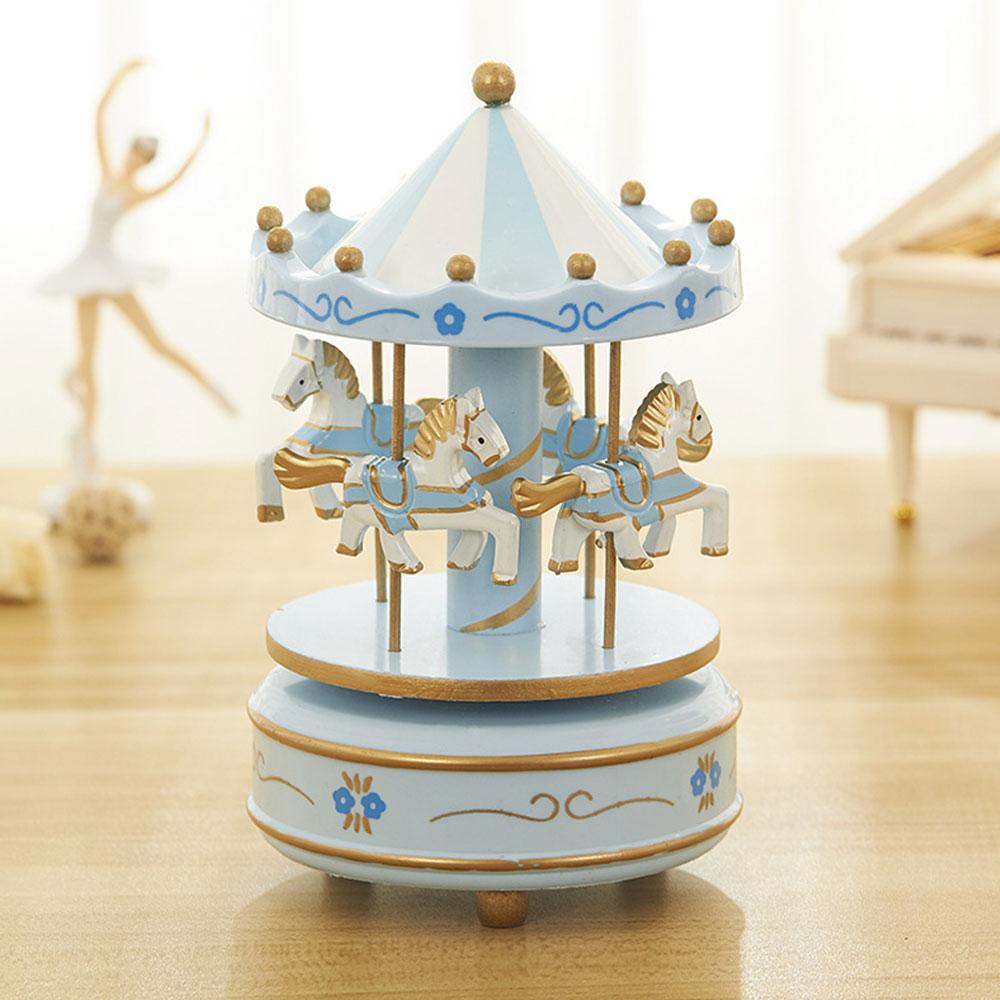 Carousel Music Box for Girls, European Style Children Day's Gift, Birthday Gift, Valentine's Day Music Box Music Toy