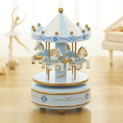 Carousel Music Box for Girls, European Style Children Day's Gift, Birthday Gift, Valentine's Day Music Box Music Toy