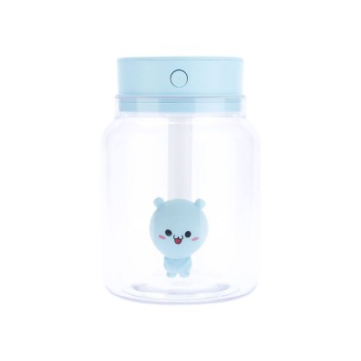 Mute Night Light Humidifier, Candy Bottle Humidifier for Office, Home, 400ML Capacity