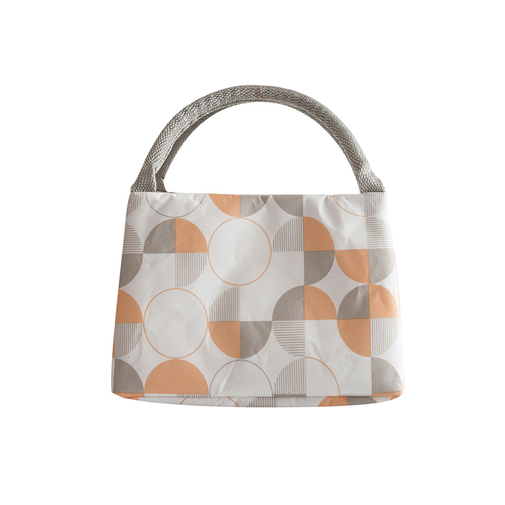 Portable Lunch Bag for Office Staff, Students, Outdoors, Small Handbag Big Capacity Insulation Lunch Bag