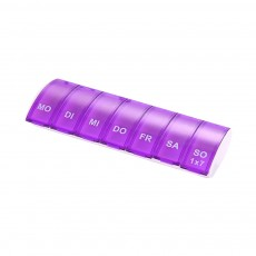 Mini Portable Pill Storage Kit, Rectangular Seven-cell, Plastic Storage Box for Capsule, Candy, Jewelry, Gadgets