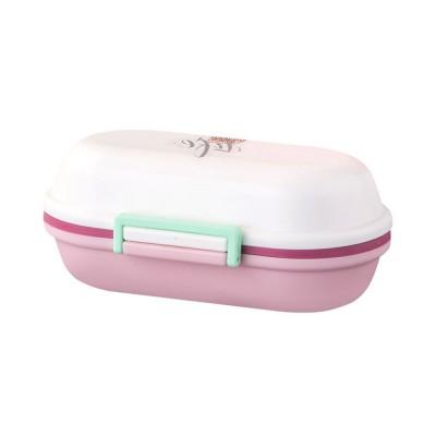 Mini Double Layer Medicine Storage Box, Portable Plastic First Aid Medicine Case, Pill Box for Home, Office, Dormitory