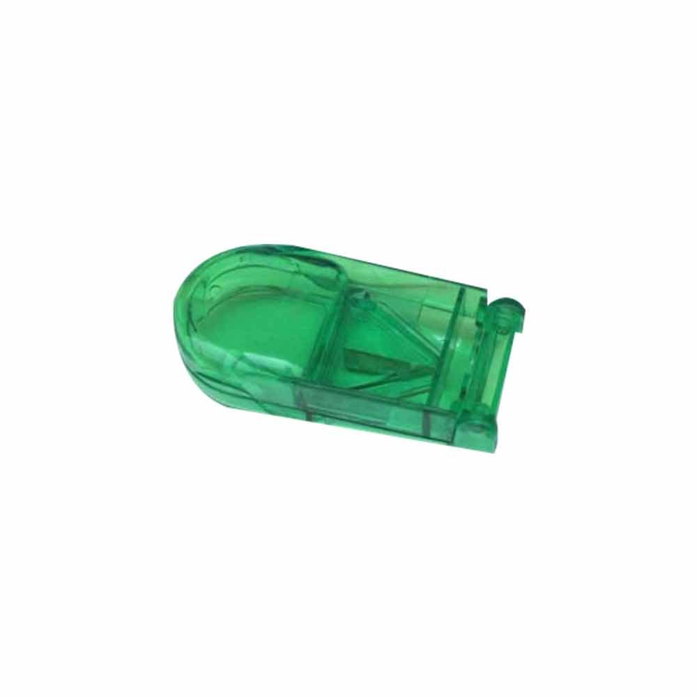 Tablet Cutter Splitter, Portable Translucent Pill Cutter Storage Box Medicine Pill Holder