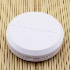 Pill Cutter Case Medicine Storage Box, Portable Plastic Tablet Cutter Splitter
